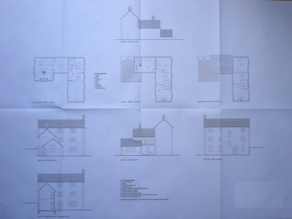 Selfbuild planning permission drawings