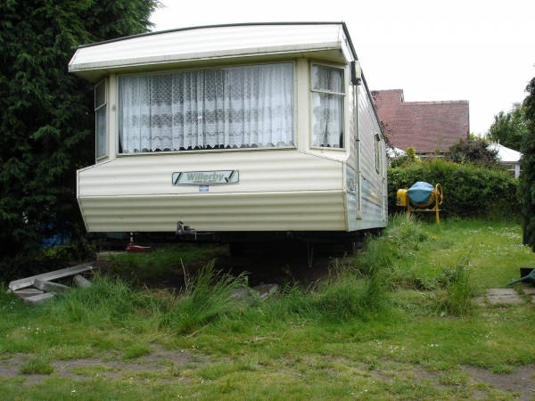 Photo of our static caravan